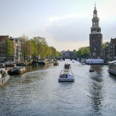 Amsterdam in May 16