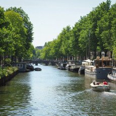 Amsterdam in May 24