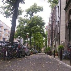 On Lijnbaansgracht street