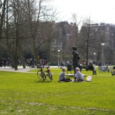 Sunny Spring Vondelpark 04