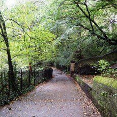 The Water of Leith route 02