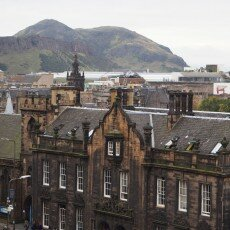 View from the Edinburgh Castle