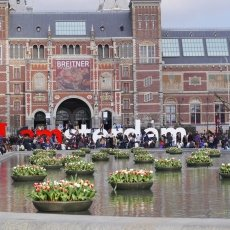 Rijksmuseum and Iamsterdam letters