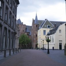 The street behind the Domkerk
