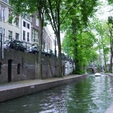The unique canals of Utrecht
