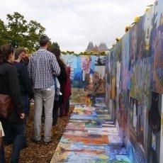 Van Gogh Sunflower Labyrinth 11