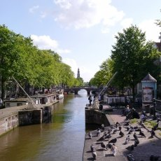 View on Prinsengracht from Eenhoornsluis