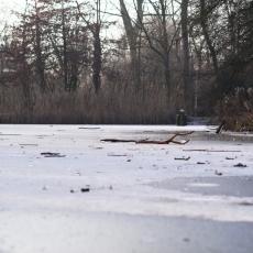 Frozen lakes Vondelpark 10