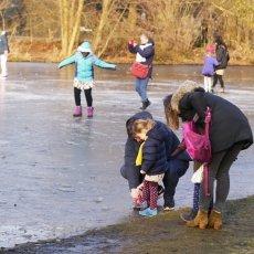 Frozen lakes Vondelpark 18