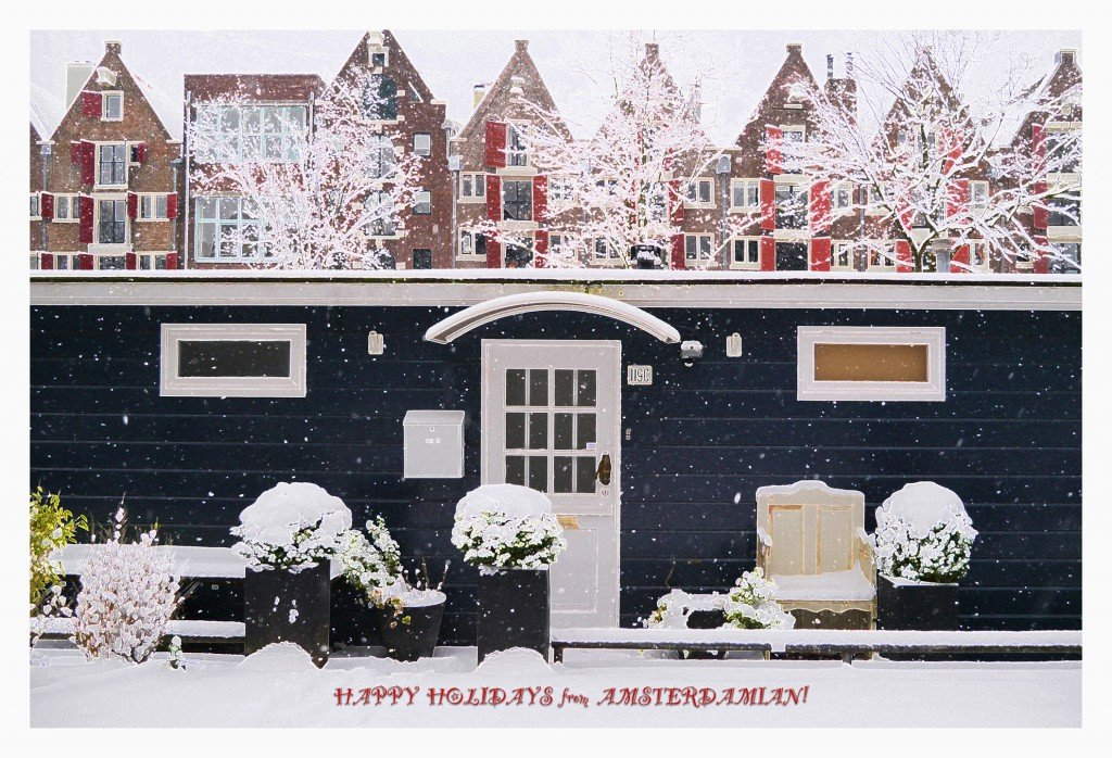 Happy Holidays from Amsterdamian