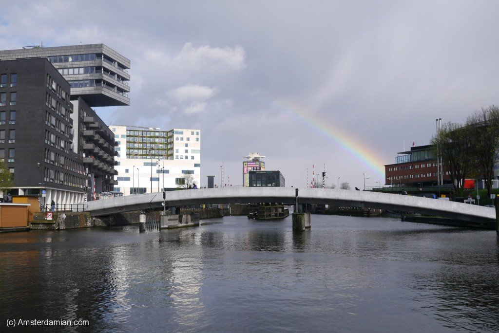 Rainbow over Westerdok