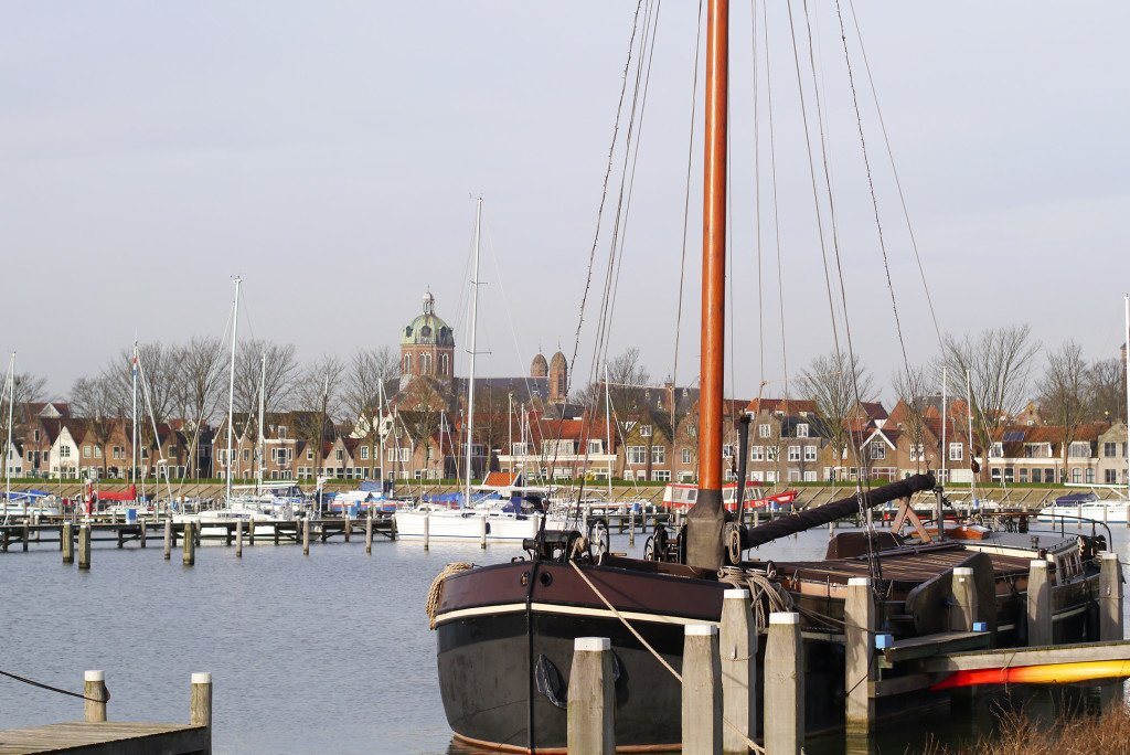 The harbour in Hoorn 02