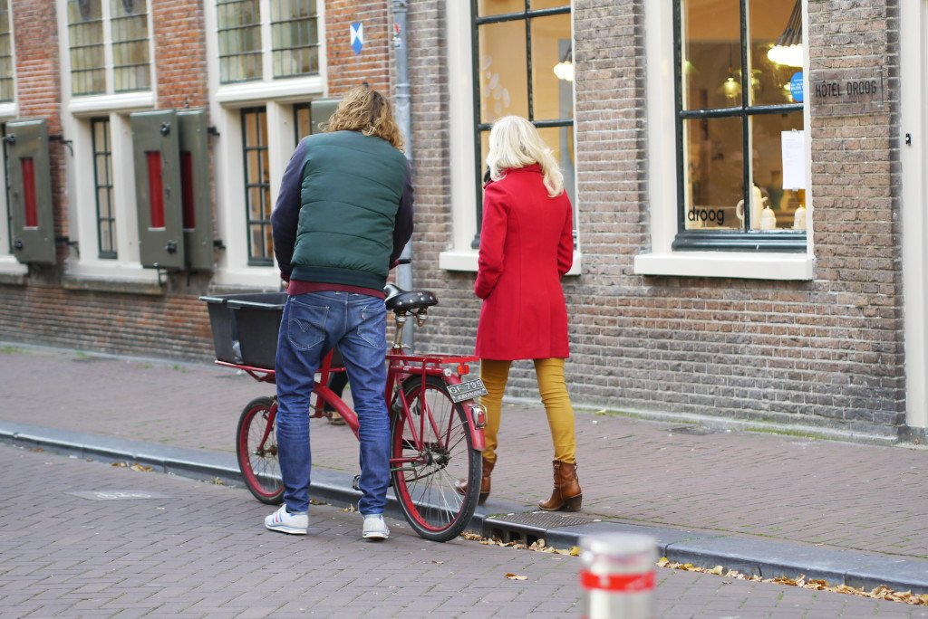 Taking the bike for a walk?