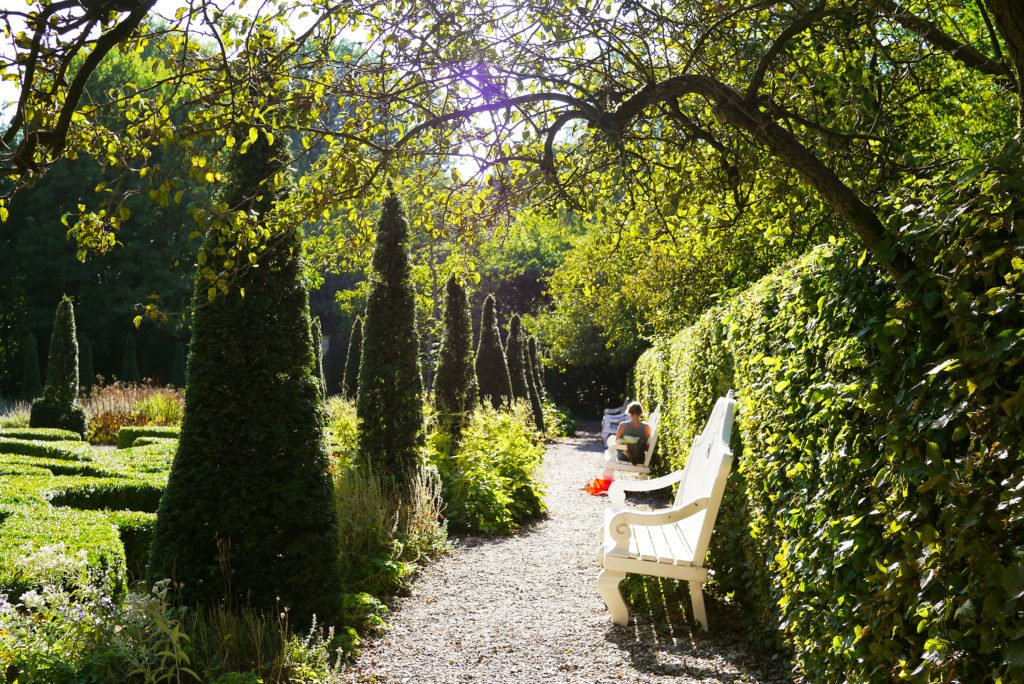 The garden of Merkelbach