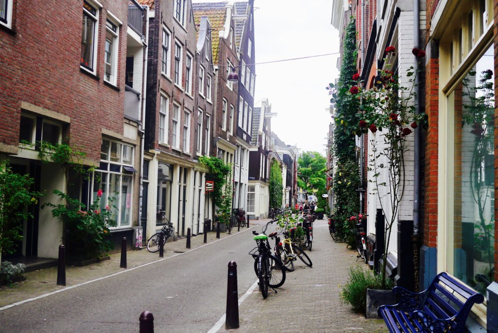 Street in the Jordaan neighbourhood