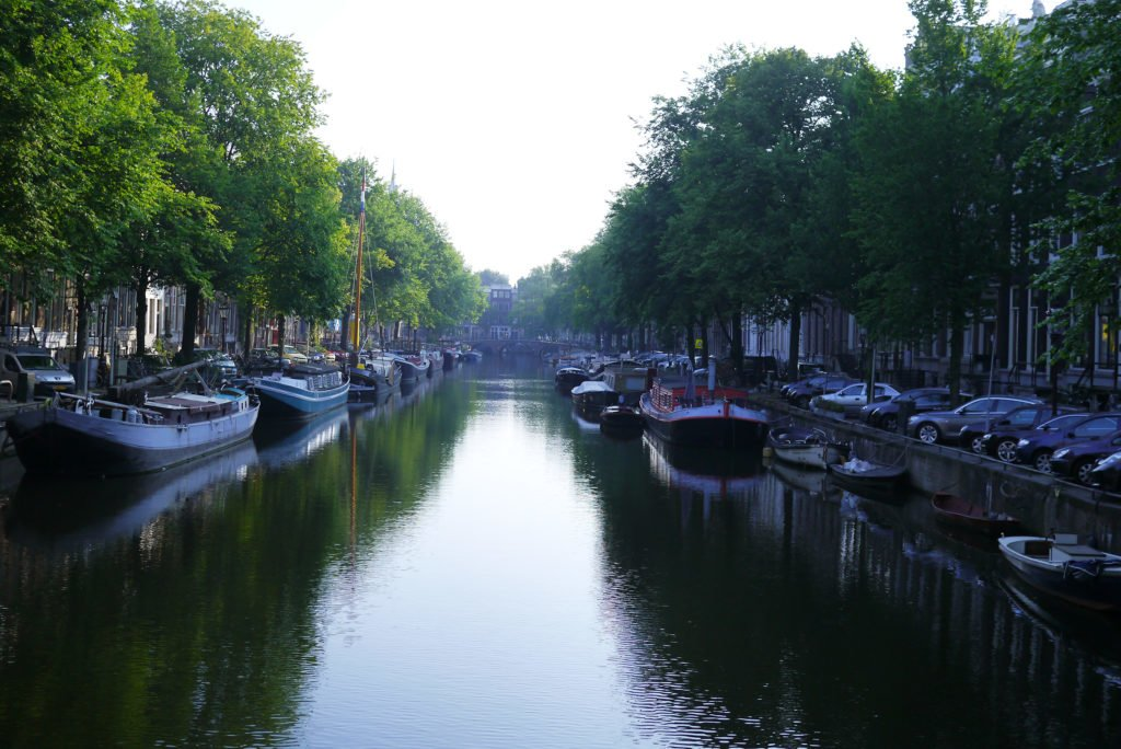 Canals early in the morning