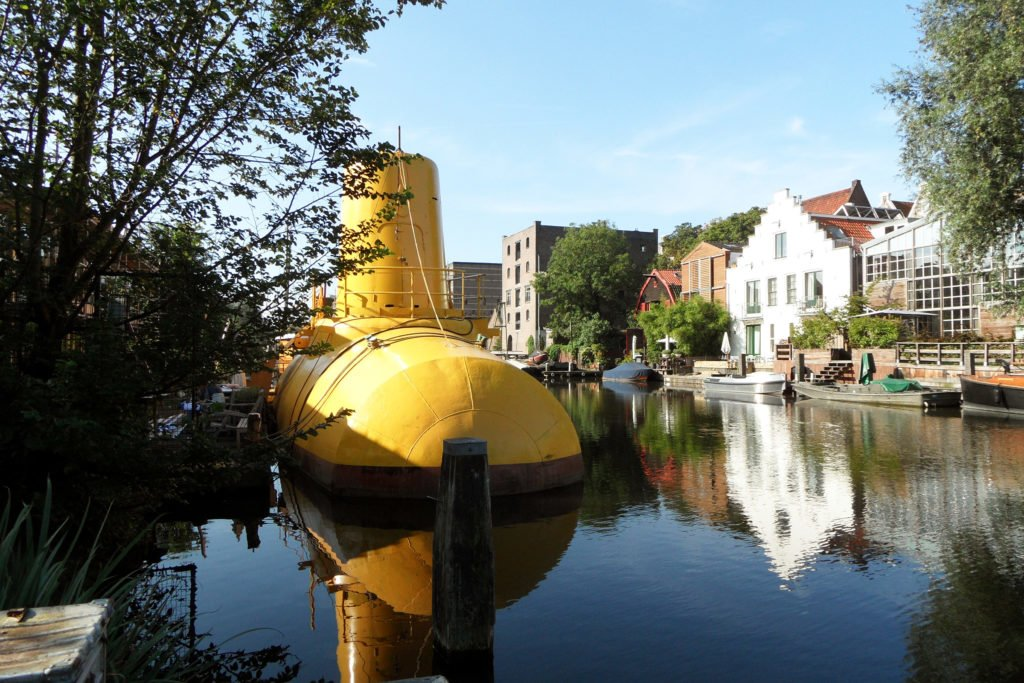 The Yellow Submarine on Prinseneiland