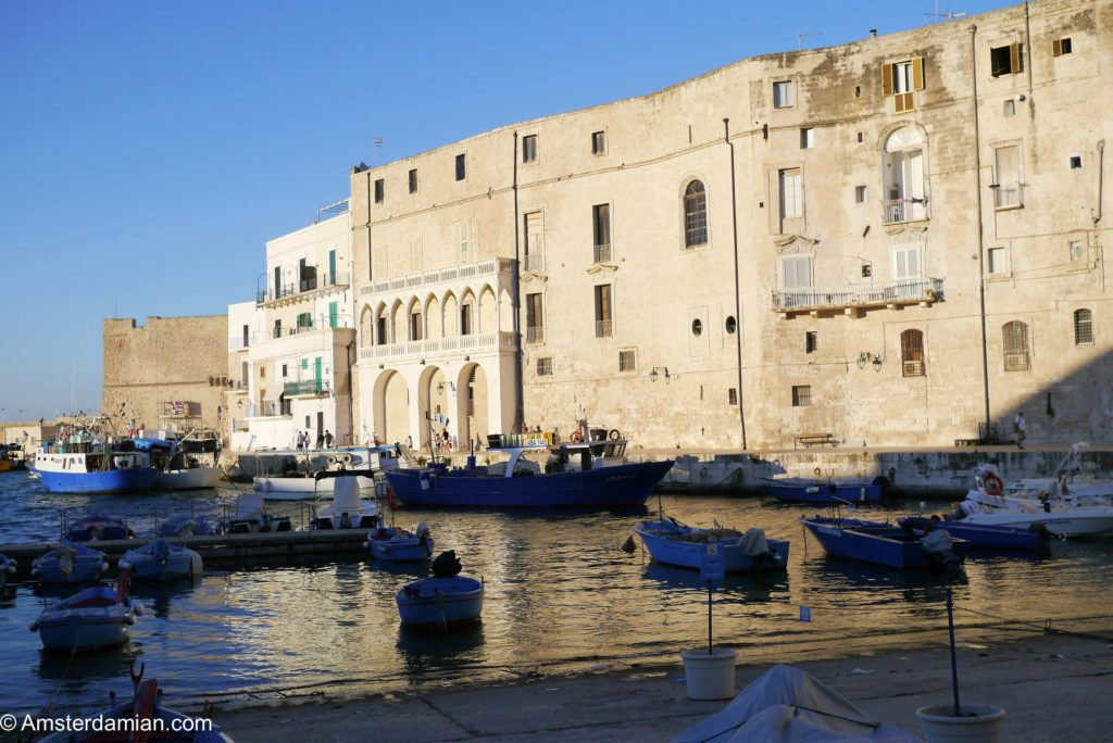 Old port of Monopoli