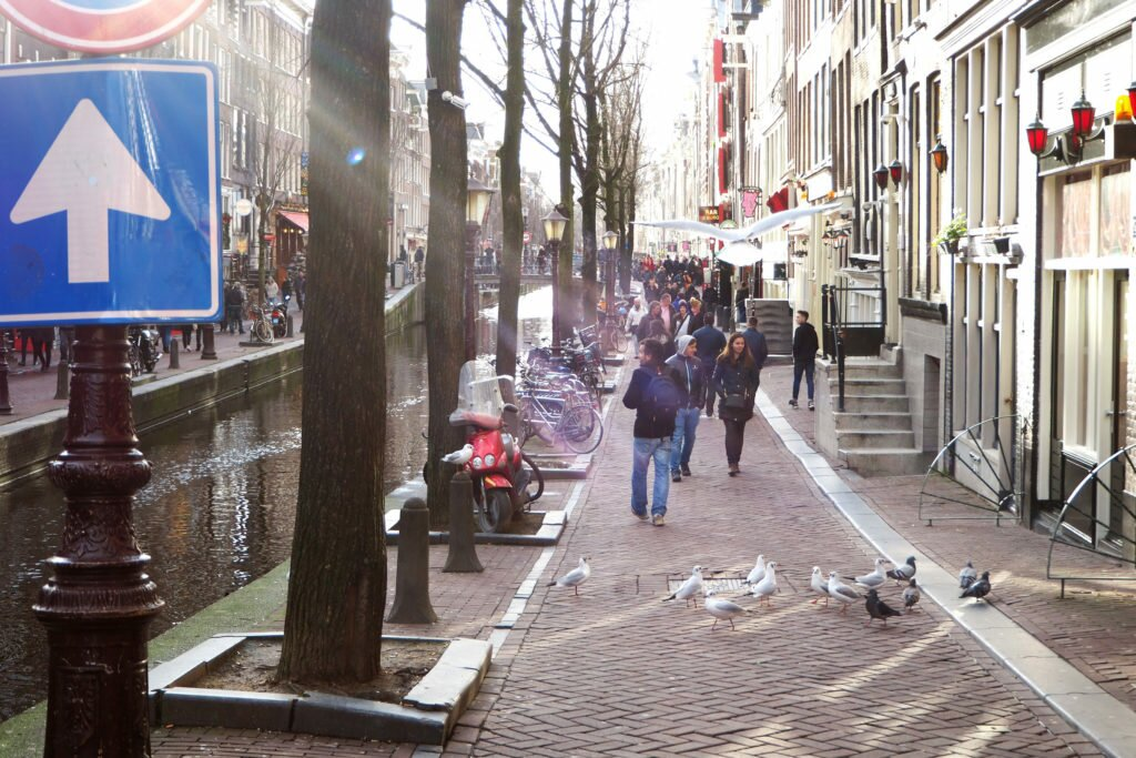 Street in the Red Light District