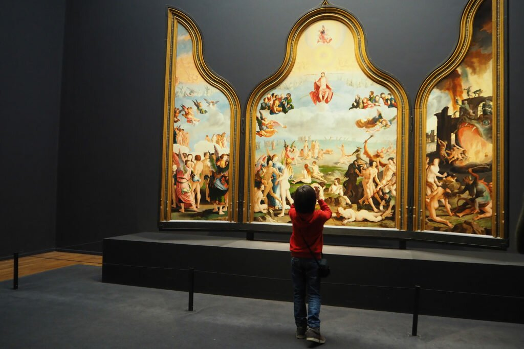 Child and art - Rijksmuseum