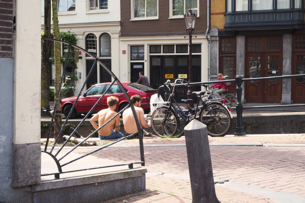 Sunny days in Amsterdam 07