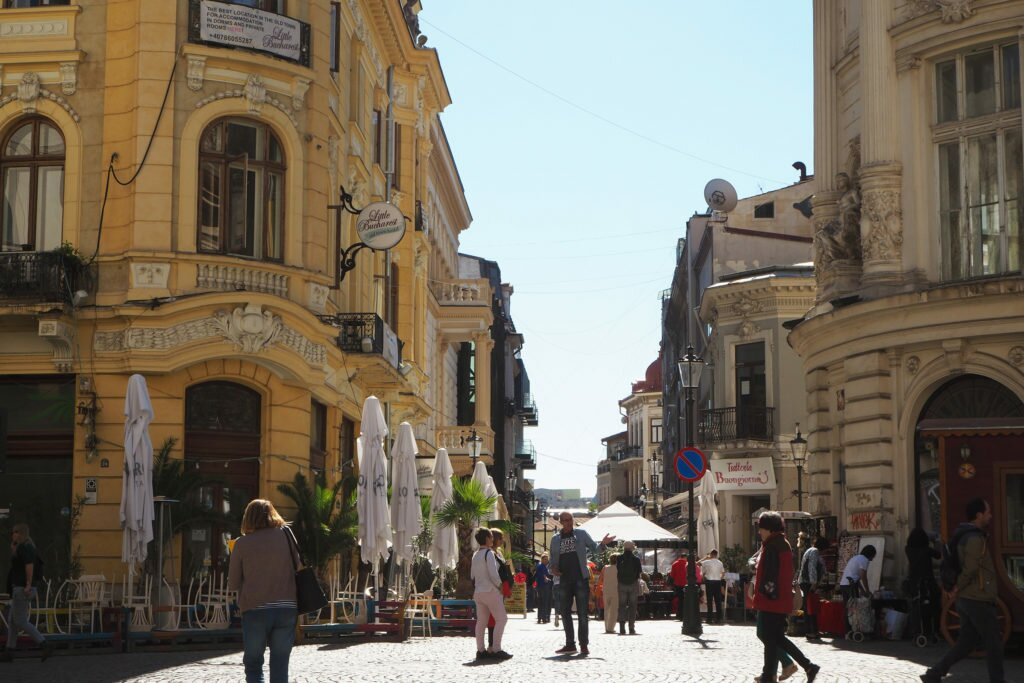 Old City Centre Bucharest