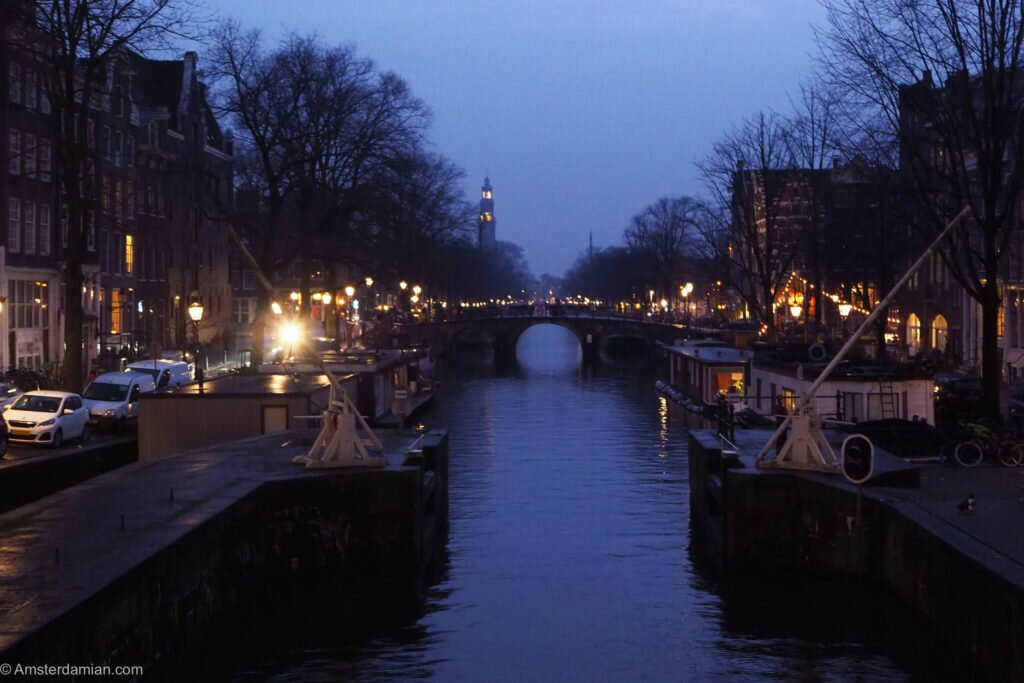 Rainy night in Amsterdam 01