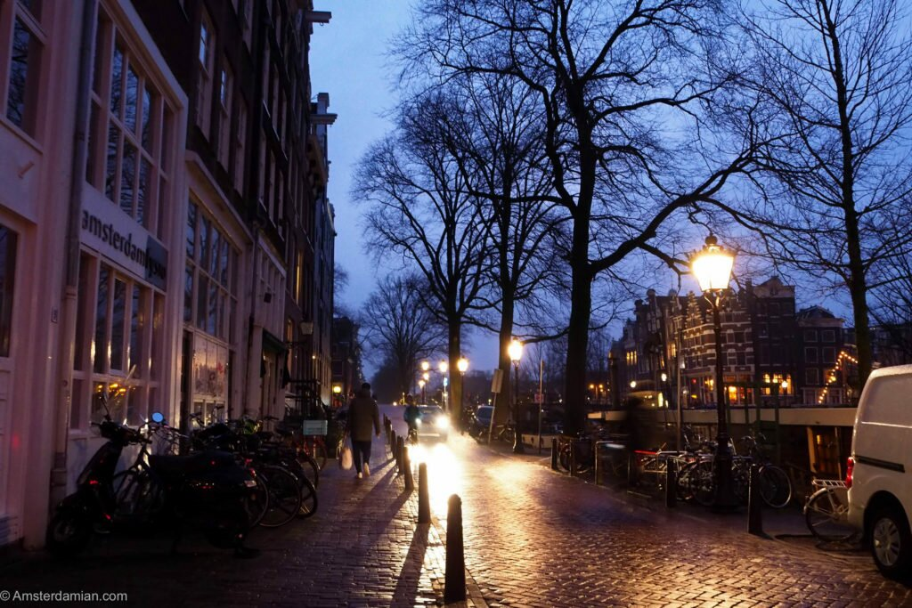 Rainy night in Amsterdam 02