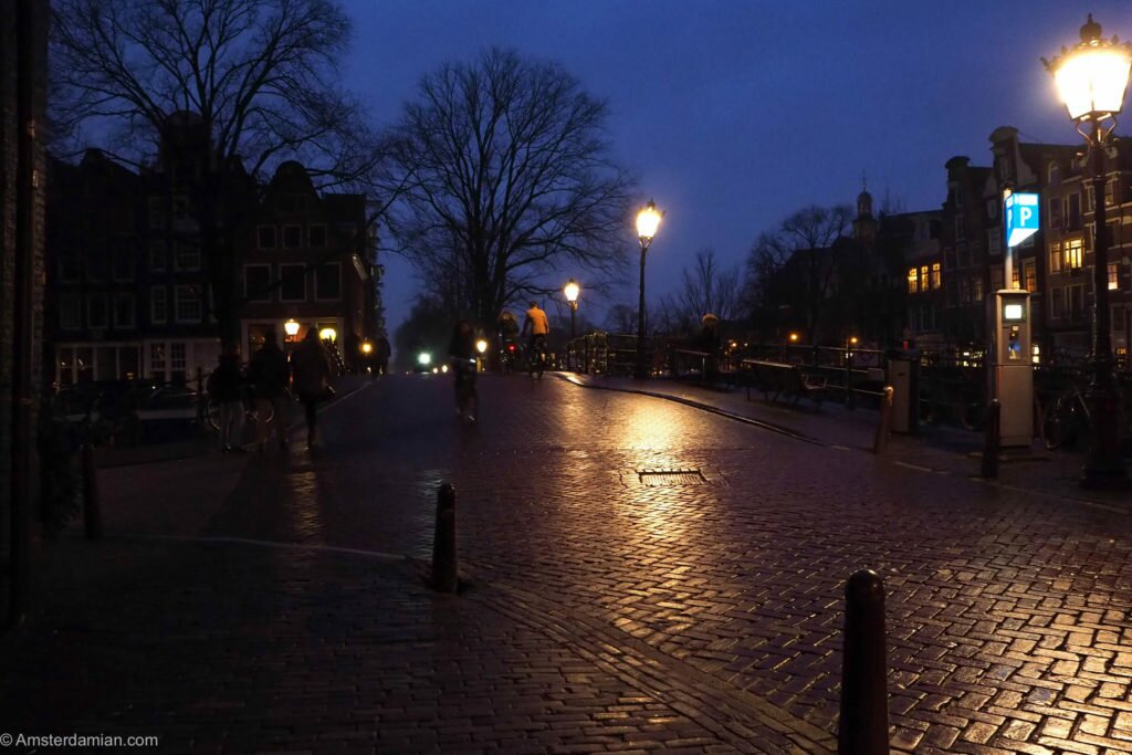 Rainy night in Amsterdam 03