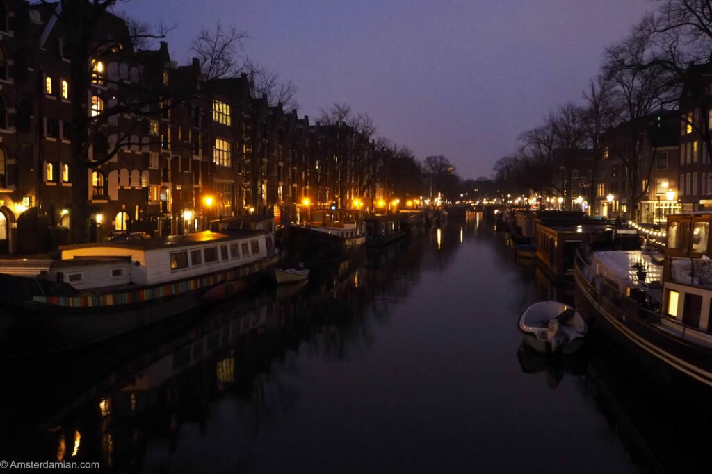 Rainy night in Amsterdam 06