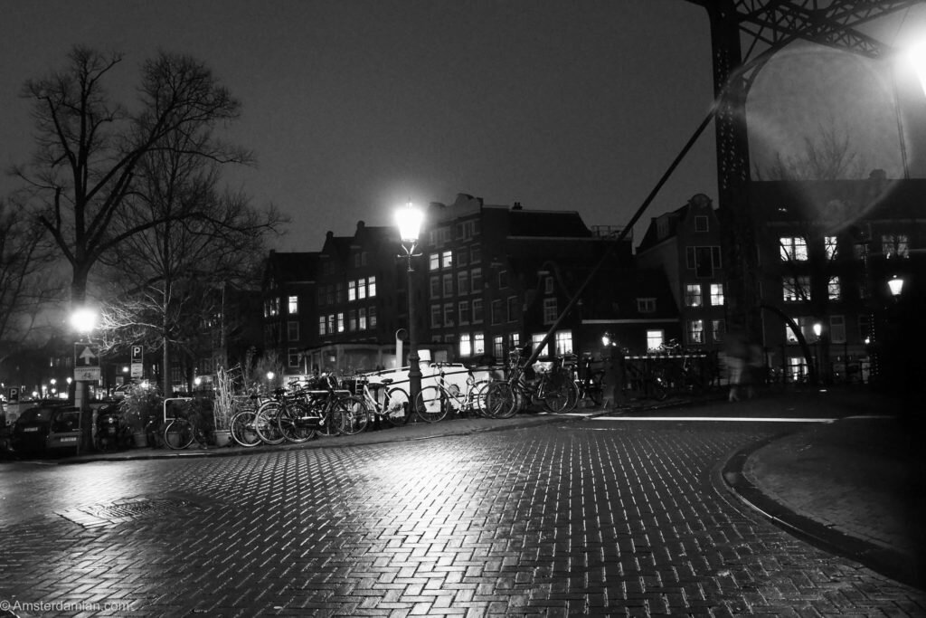Rainy night in Amsterdam 08