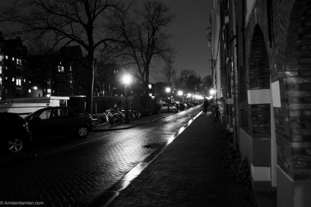 Rainy night in Amsterdam 09