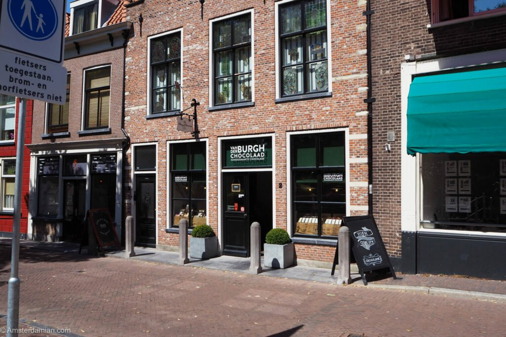 Chocolate shop in Delft 02