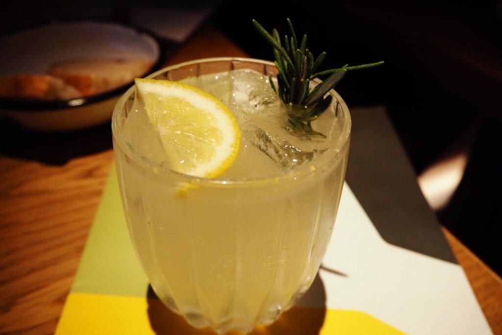 The Lemonman cocktail
