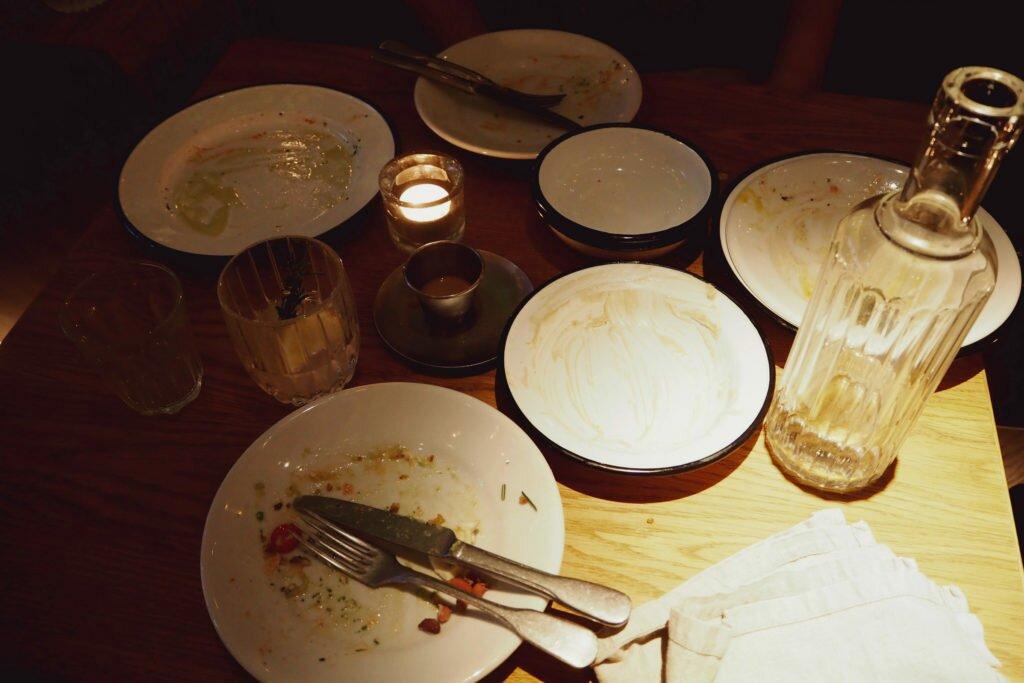 NENI restaurant: after dinner