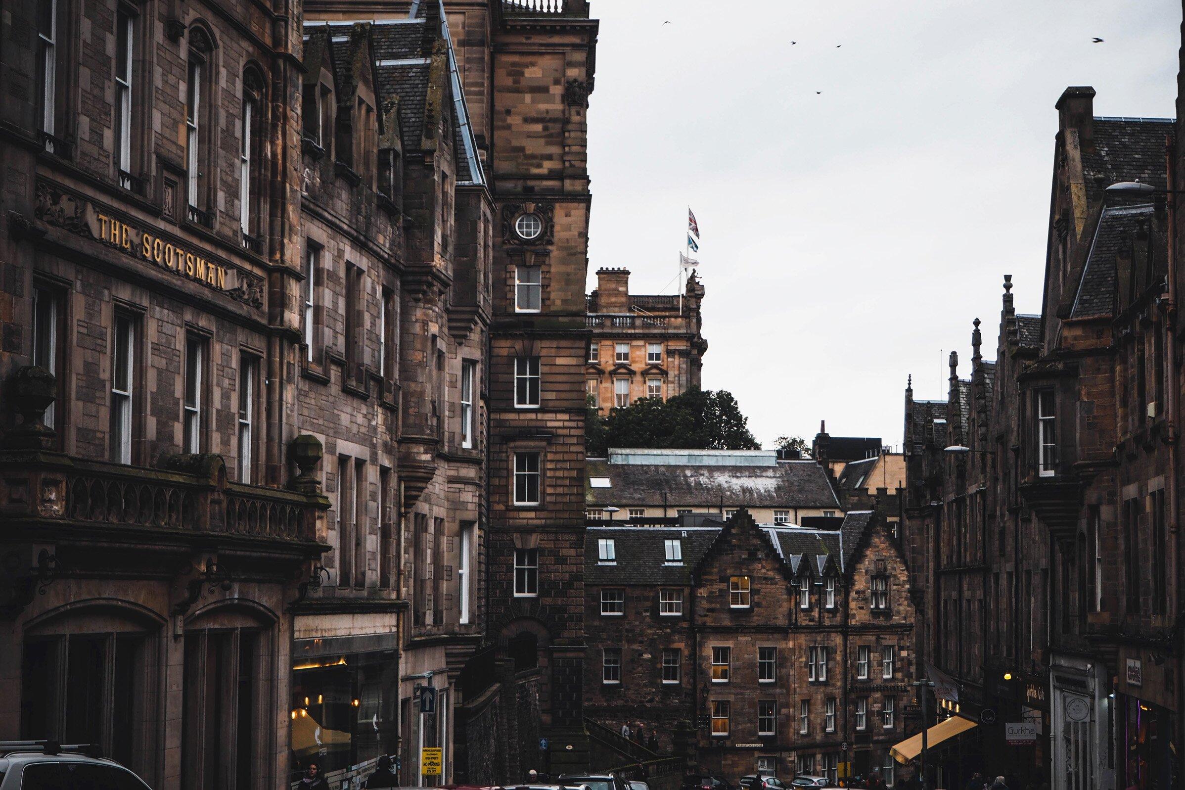 Edinburgh, the cold beauty