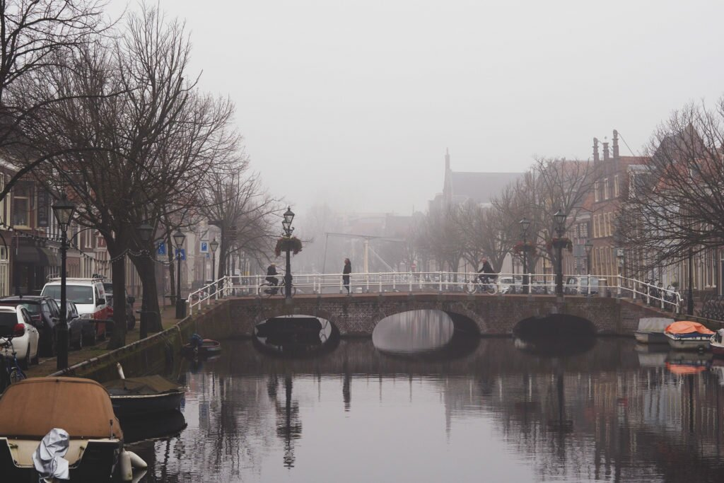 Misty day in Alkmaar 02