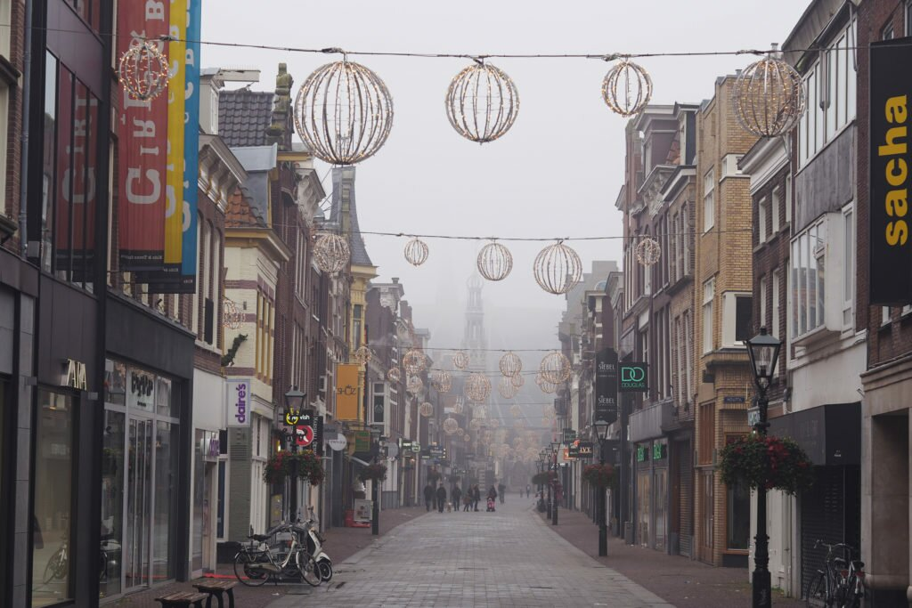 Misty day in Alkmaar 05