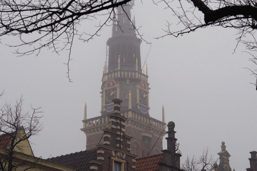 Misty day in Alkmaar 07