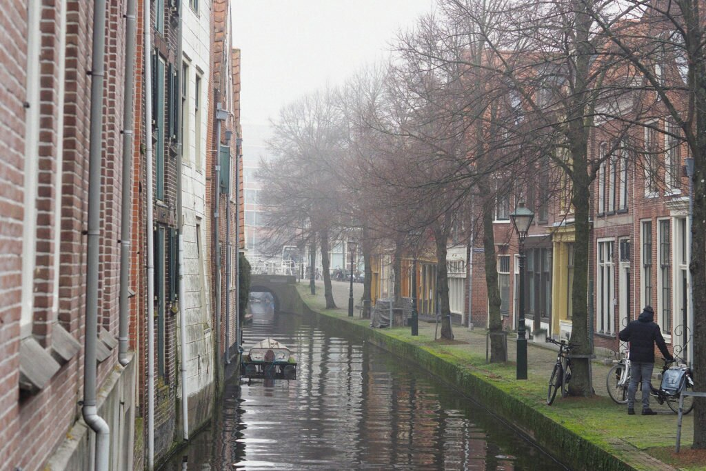 Misty day in Alkmaar 06