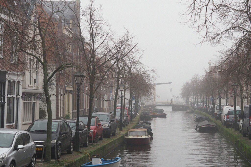 Misty day in Alkmaar 03