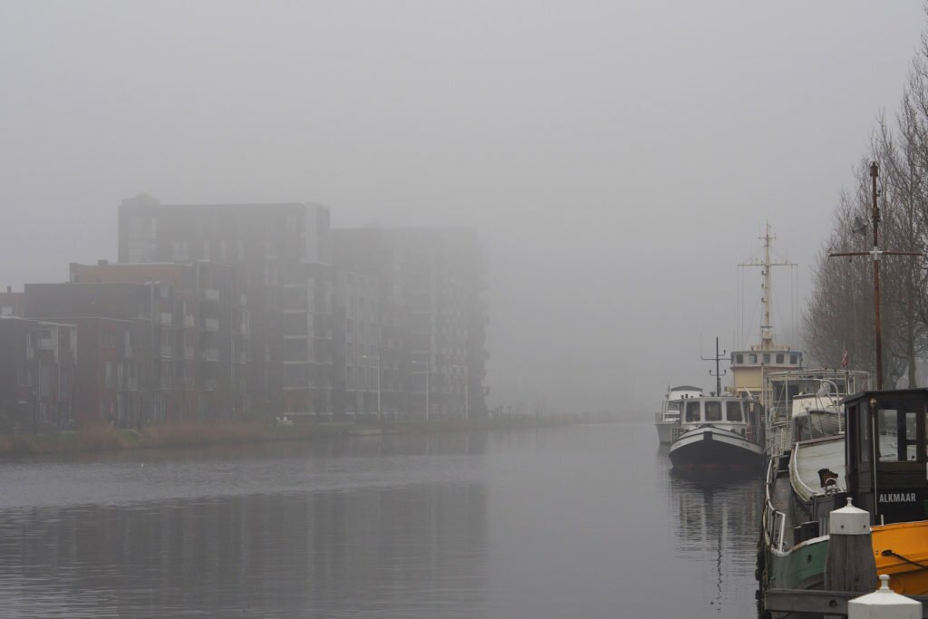 Misty day in Alkmaar 10