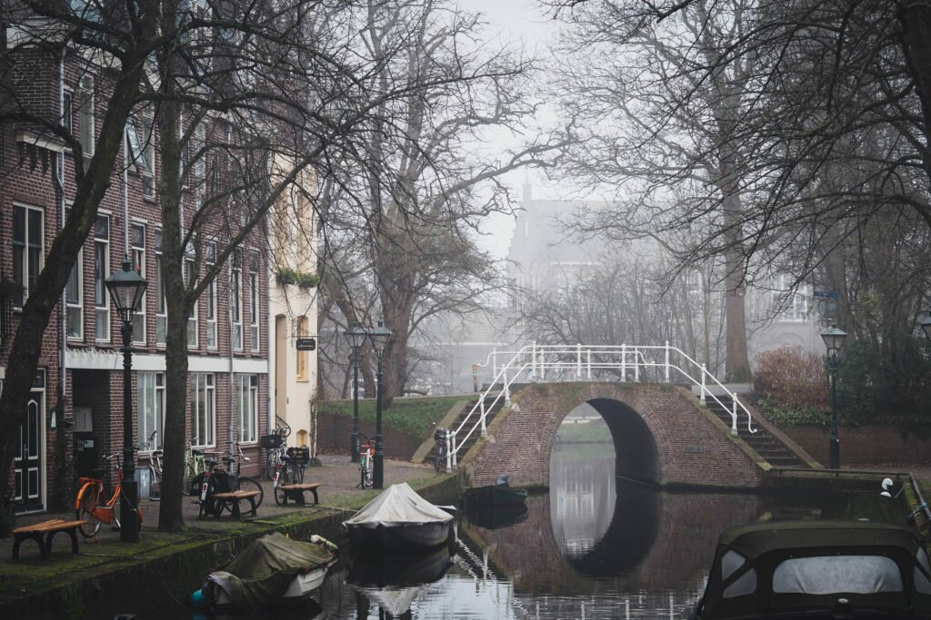 Misty day in Alkmaar 12