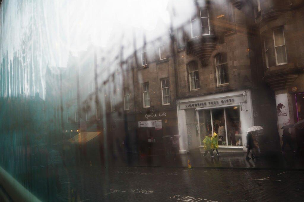 Day-dreaming in Edinburgh