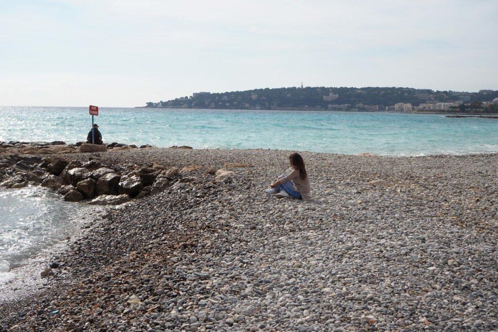 Menton beach 06
