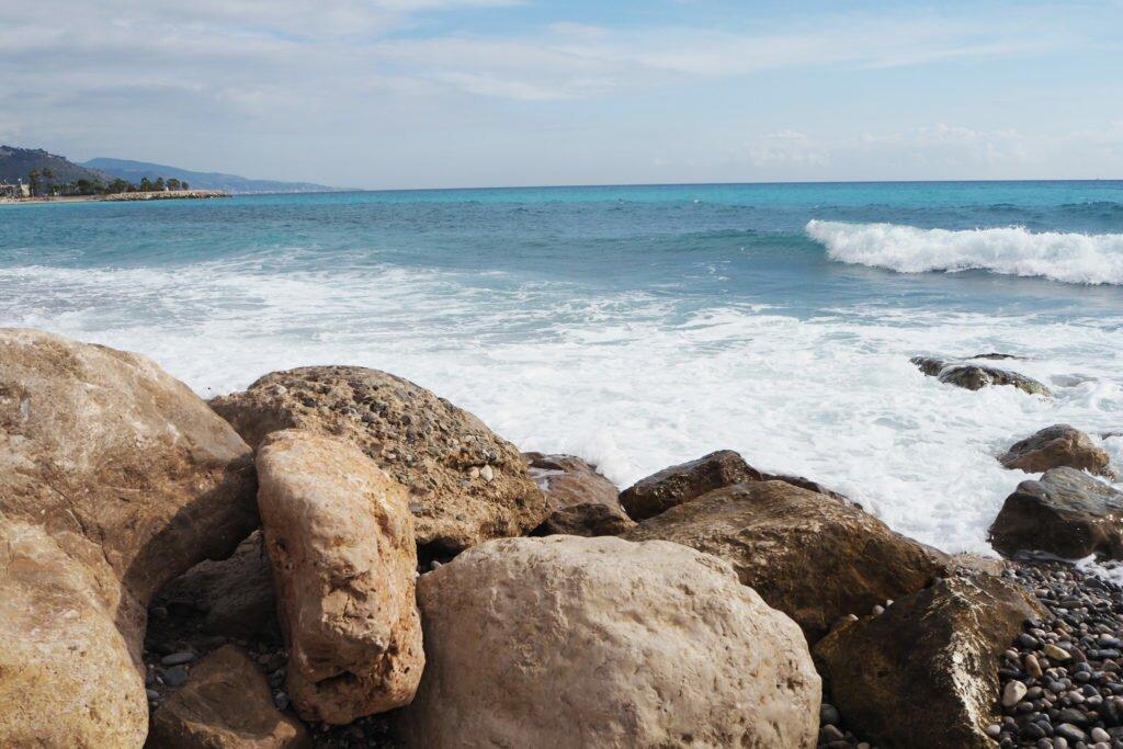 Menton beach 13