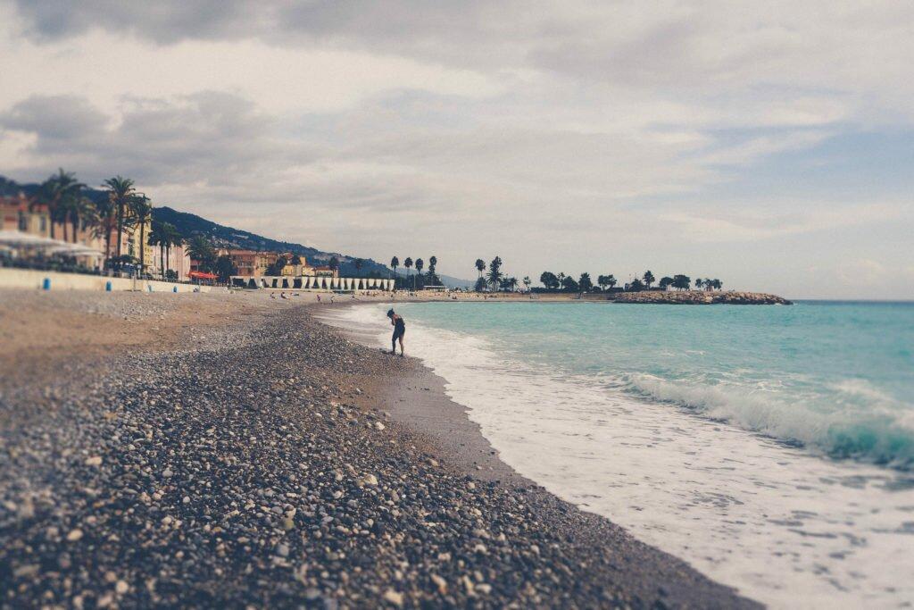 Menton beach 10