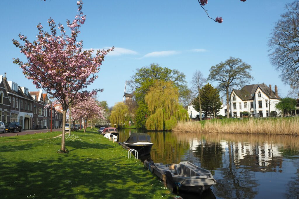 Alkmaar in spring