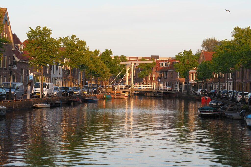 Golden hour in Alkmaar