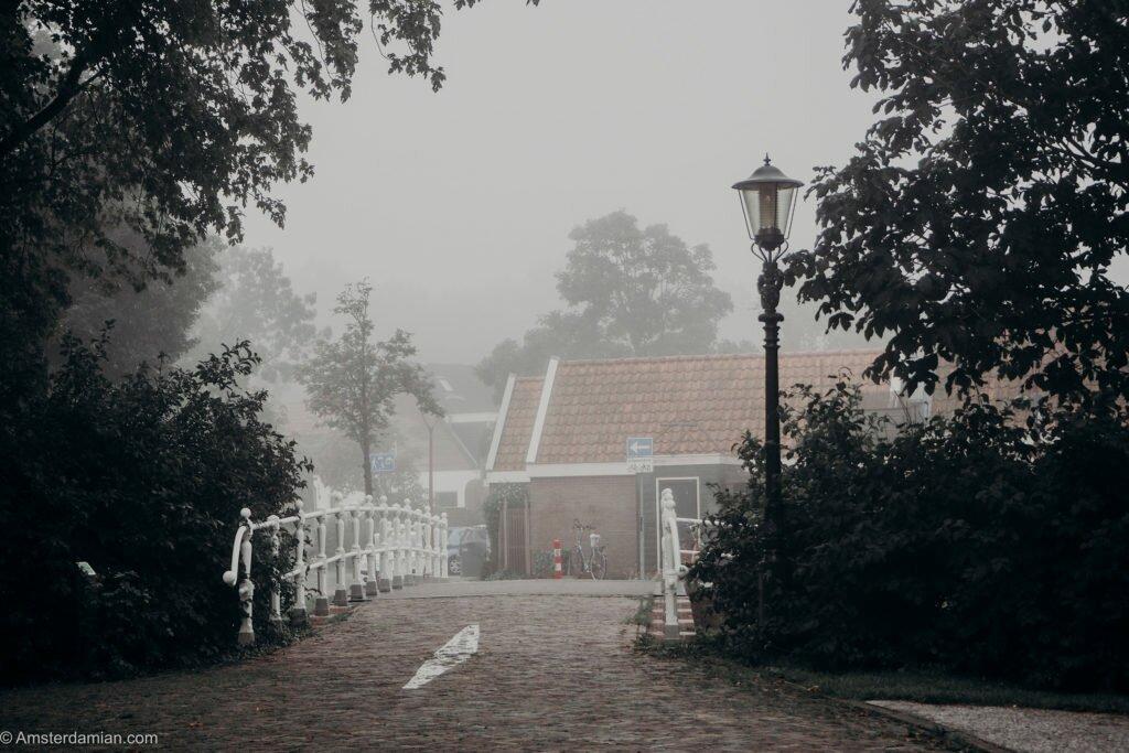 Misty summer morning Alkmaar 01